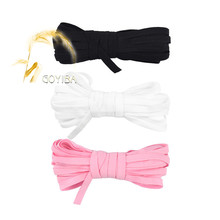 "GOYIBA 5 Yard 1/4"" 6mm Solid Skinny Spandex Band Elastics Kids Doll Dress Hairband Hair Tie Headband Lace Trim DIY Sewing Notion"