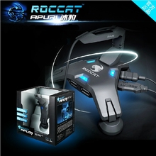 Roccat Apuri Active USB Hub With Mouse Bungee, Kova Mouse Cord Holder, Mouse Cord Clip, Brand New In Box & Original