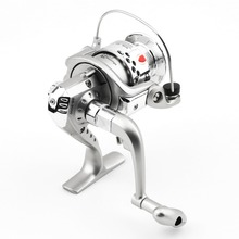 Sales promotion fishing Reel 5.1:1 6BB Ball Bearings Fishing Spinning Reel Left/Right SG3000 ABS Spool