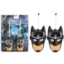 2pcs/set Batman Cartoon Toy Interphone Children Game Intercom Electronic Toy Walkie Talkies Toys For Kid Gifts Super cool