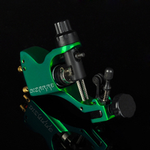 Professional Grad Stigma Bizarre V2 Rotary Tattoo Machine Tattoo Guns For Liner And Shader Green Color Free Shipping TM-550E(China)