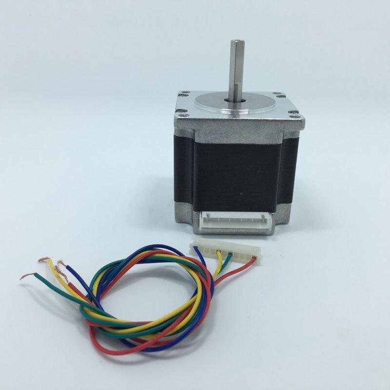 4-lead Nema 23 Stepper Motor 57 motor NEMA23 Stepper Motor 2.8A ISO CNC Laser Grind Foam Plasma Cut<br>