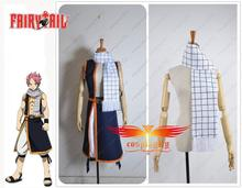 Free Shipping Hot Fairy Tail Natsu Dragneel Scarf Only For Cosplay Costume 150cm Length One Size In Stock(China)