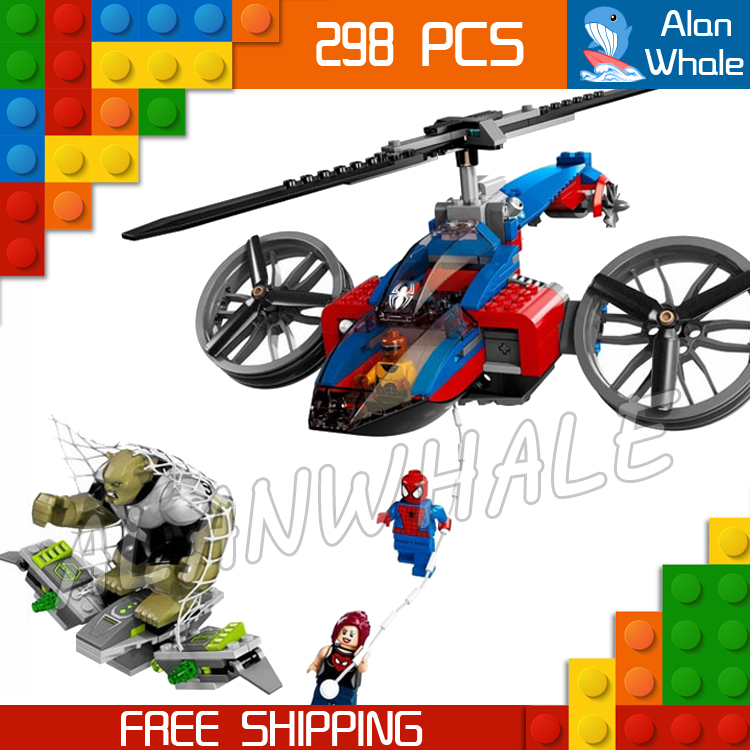 298pcs 2017 Bela 10240 Ultimate Spiderman Spider Rescue amazing fascinating Mary Jane mysterious Compatible With lego<br><br>Aliexpress