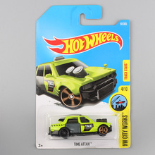 kids fun HW hot wheels city works metal die cast model hotwheels Wheels High Time at taxi mini cars bus track toys for children