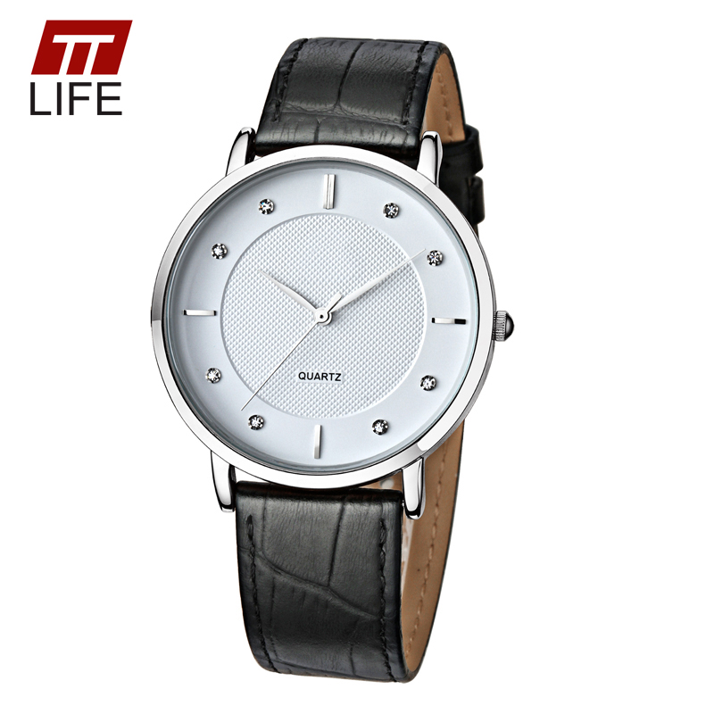 TTLIFE Brand Genuine Leather Band Waterproof Casual Male Clock Mens Watch Quartz Watches Men Ultra Thin Full Design Wrist Watch<br><br>Aliexpress
