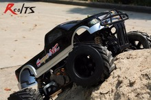 RealTS FS Racing 1/4 scale 4X4 35CC GAS Monster truck remote control car RC with transmitter RTR Free shipping(China)
