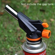 Multifunction Portable Spray Gas Torch Gun Burner Auto Ignition Camping Electric Lighter BBQ Flame Gun Barbecue Fire Garden