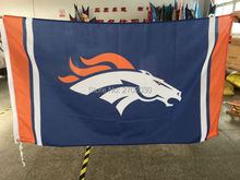 Denver Broncos Flag World Series Super Bowl Champions Football Team Fan 3ft X 5ft Denver Broncos Banner Polyester Flag Custom(China)