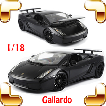 New Year Gift Gallargo 1/18 Large Model Metal Car Metallic Scale Simulation Diecast Alloy Collection Toys Vehicle Present