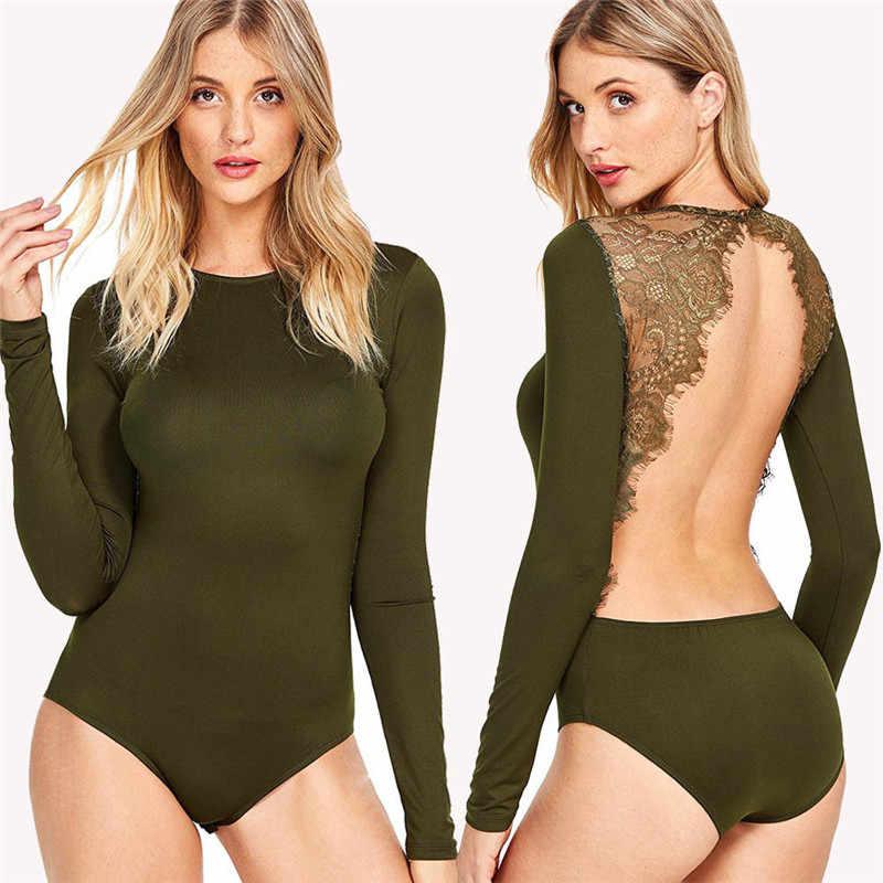 Detail Feedback Questions about Backless Velvet Lace Bodysuit Burgundy  Elegant Women Applique Long Sleeve Bodysuit 2018 New Sexy Vintage Party  Bodysuit on ... dfdff6cd3