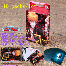10 packs/lot Anime BLEACH toys poker for Collection