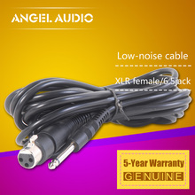 "Free Shipping Microphone Wire Cord - XLR Female to Jack 6.3 / 6.35 / 6.5 mm ( 1/4"" ) Male Plug Audio Lead 4.5 M Microphone Cable"