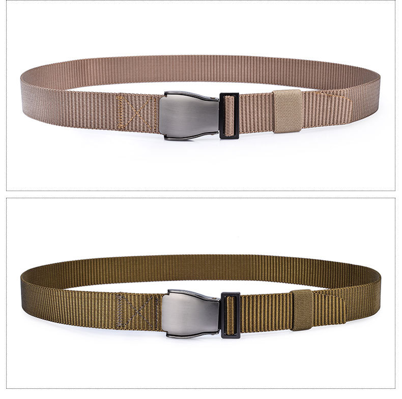 HTB1F3tdSXXXXXczXXXXq6xXFXXXN - [JAMONT] Male Tactical Belt Top quality 3.7cm Wide Canvas Belt for Men Automatic Buckle Man Belts W041