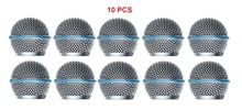 Bolymic 10 Pack Ball Head Mesh Microphone Grille microfono Fits Shure SM58,Beta58/Beta58A microfoon