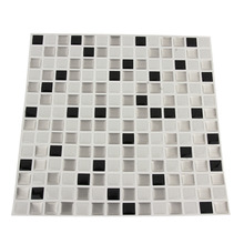 2017 Hot Sale 3D Colorful Modern Mosaic Ceramic Tile Sitting Room Toilet Wall Stickers Swimming Pool Mosaic Stickers Home Decor