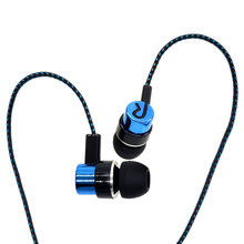 Stereo In Ear Earphone Music Earpods Noise Cancelling Super Bass Headset Universal 3.5mm Earbuds For All Mobile Phone MP3 MP4
