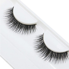 Natural Beauty Dense A Pair False Eyelashes, party cosmetic Wedding Women's Fashion 2017 hot dropshipping