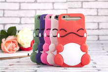 Cute Pokemons Case For Coque iPhone 6 Plus Case Lovely Bulbasaur Carcasa Silicone Funda For Capa Para iPhone6 plus Capinha