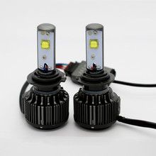 60W 7200LM/set LED Headlight Conversion H1 H3 H4 H7 H10 H11 H13 9005 9004 9006 9007 Car Replacement Fog Head Light Lamp White(China)