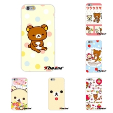 For Samsung Galaxy S3 S4 S5 MINI S6 S7 edge S8 Plus Note 2 3 4 5 Kawaii Rilakkuma Cute Brown Bear Soft Case Silicone Cover(China)