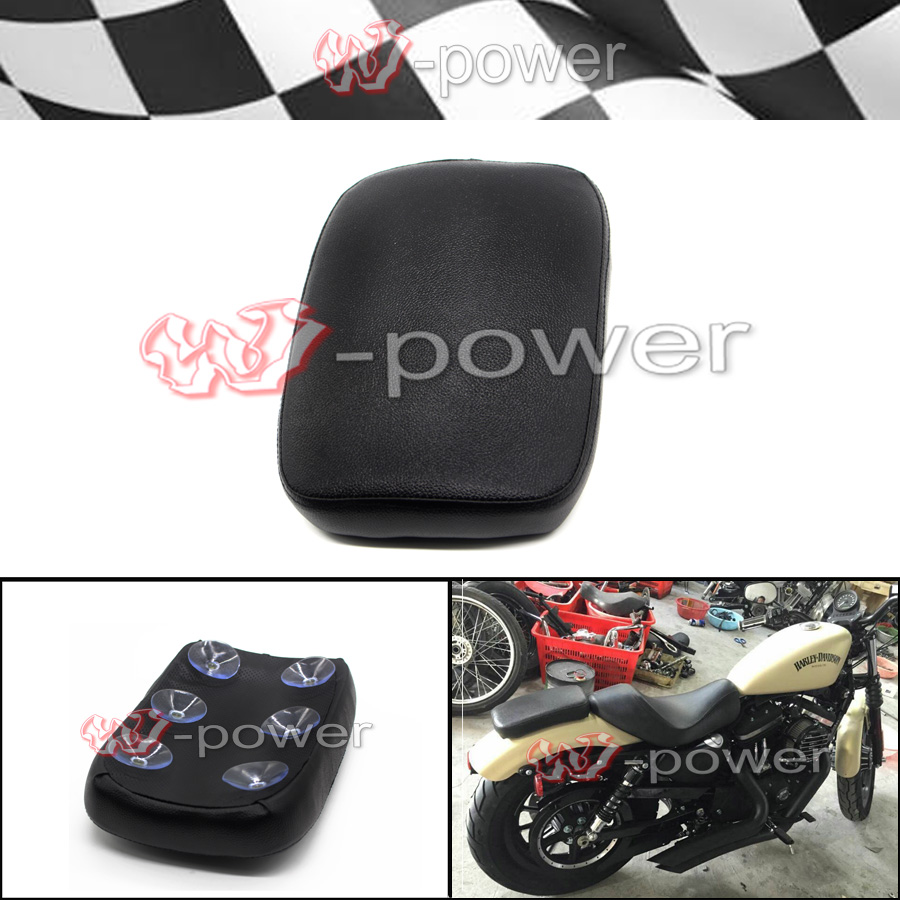 Motorcycle Rear Passenger Seat Pillon Pad Cushion For Harley Sportster XL883 USA
