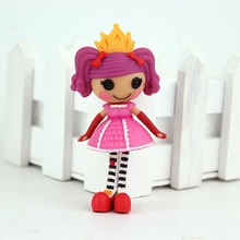 10style choose New arrival Mini 3Inch Original MGA Lalaloopsy Dolls Mini Dolls For Girl's Toy Playhouse Each Unique(China)