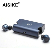 Newst True Wireless Earbuds TWS X2T Mini Bluetooth4.2 Earphone With 1500mAH Charger Box for iphone and andriods