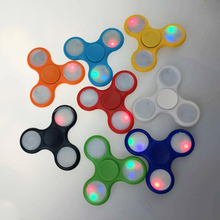 Buy New Matte Tri-Spinner Fidget Toy Plastic EDC Hand Spinner Autism ADHD Rotation Time Long Anti Stress Toys for $1.11 in AliExpress store