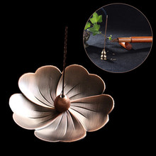 Cherry Incense Burner Holder Flower Statue Censer Plate For Sticks Cone SAKURA Beautiful decorative patterns practical useful