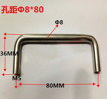 UNILOCKS Cabinet Hardware Stainless Steel 201 Bar Pull Handle(C.C.80mm) 10pcs(China)