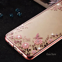 Buy Bling Diamond Back Case Samsung Galaxy S7 Edge S8 Plus S6 Case Silicone Coque Cover Samsung S8 S7 S6 Edge Case TPU for $4.44 in AliExpress store