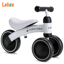 Children Ride On Toys Balance Bike Four Wheels Kid's Bicycle Bike For Children Ride On Toys For 1-2 Years Child Bicycle For Kids(China)