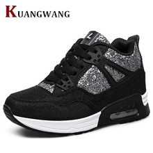 Women Vulcanize Shoes Luxury Brand Tenis Feminino Sapato Women Trainers Breathable Casual Shoes Basket Femme Air Superstar Shoes(China)