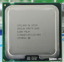 Free shipping Original Intel Core Q9550 CPU processor Quad Core 2.8G 12MB LGA 775 processor scrattered pieces.(China)