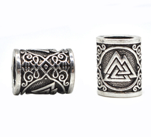 1pc High Quality Weight Viking Runes Beads Hammer for Bracelets for Pendant Necklace DIY for Beard Hair Beads C49