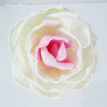 10pcs/lot Handmade Dired Rose wth Rolled Edge and Rattan Sticks Sola Flowers for Fragrance Diffuser, Home and Wedding Decor(China)