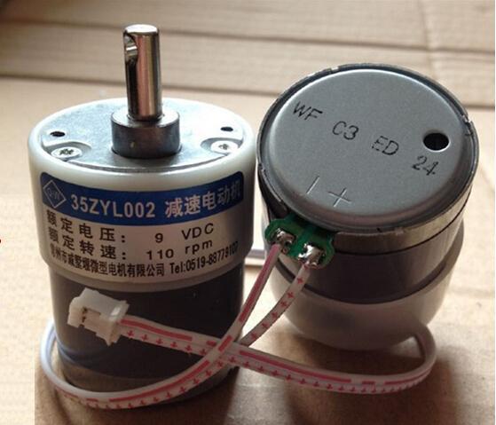 Free shipping/35ZYC-01(35ZYL002) 9V, gear motor universal small motor<br>