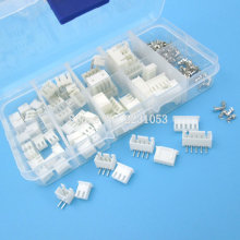 40 Sets Kit in box XH2.54 Right Angle 2p 3p 4p 5pin 2.54mm Pitch Terminal / Housing / Pin Header Connector Adaptor