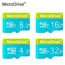 MICRODRIVE Micro SD Card Class 6-10 Storage Device 8G 16G 32G TF Card Flash Memory for Smartphone Pen drive Flash