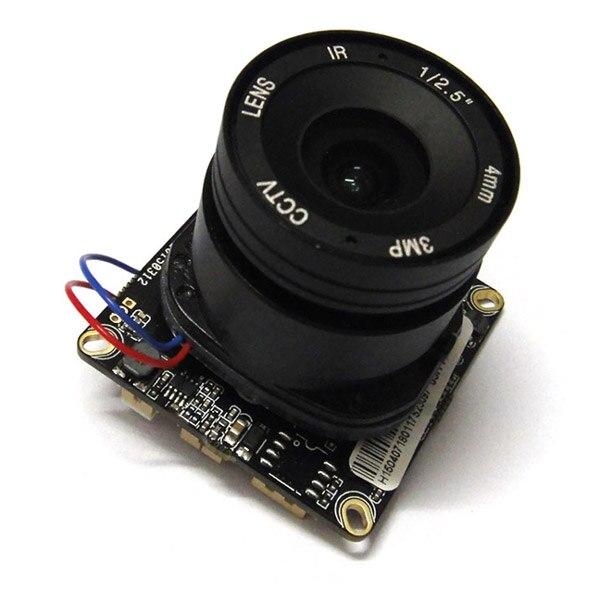 Full HD 2.0MP CCTV 1080P IP Camera Module 2mp PCB mainboard Hisilicon, 6mm 3mp cs lens<br>