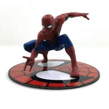12cm The Amazing Superhero Spider-Man Homecoming Magnetic Action Figure Decoration Collection Model Dolls Kids Toys 322