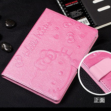 PU Leather Smart wake Tablet Case cover for Apple iPad mini1 mini 2 mini 3 case hello kitty Stand Flip tablet Cover Protective(China)