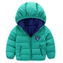 New Boy Coat Children Winter Outerwear Coat Boy Jacket Baby Girls Coat Warm Hooded Children Clothing Girls Winter Clothing