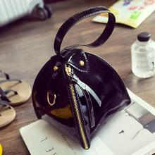 Women fashion new handbag High quality Triangle Clutch PU Leather Handbags Shoulder Bag Pyramid Shape Female Bag