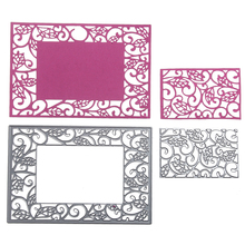 Embossing Steel Hollow Out Side Cutting Dies Stencils DIY Scrapbooking Card Album Photo Painting Template Metal Craft