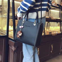 Buy Free shipping, 2018 new woman fashion handbags, trend leisure messenger bag, simple Korean version women bag, retro flap. for $15.09 in AliExpress store