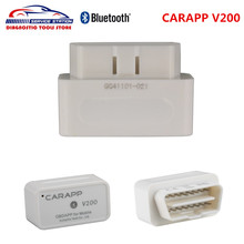 Super Mini Smart Car Trip Computer CARAPP V200 Work With IOS/Android Dual-System AUTOPHIX CARAPP V200 OBD2 With Free Shipping