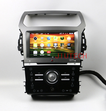 Android car audio gps navigasyon  system for ford explorer 2013+ car dvd player with touch screen Multimedia System