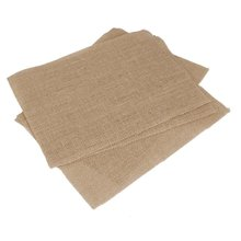 SZS Hot Table mat hessian burlap Coasters table sets - 10s (brown)(China)